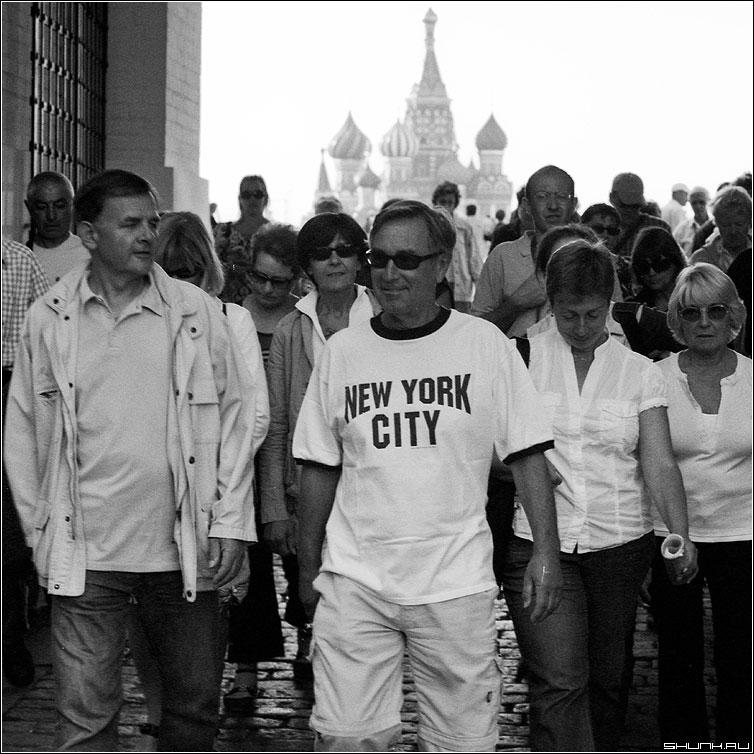 New York City - москва центр клемль площадь красная пленка иностранцы храм василия блаженного фото фотосайт