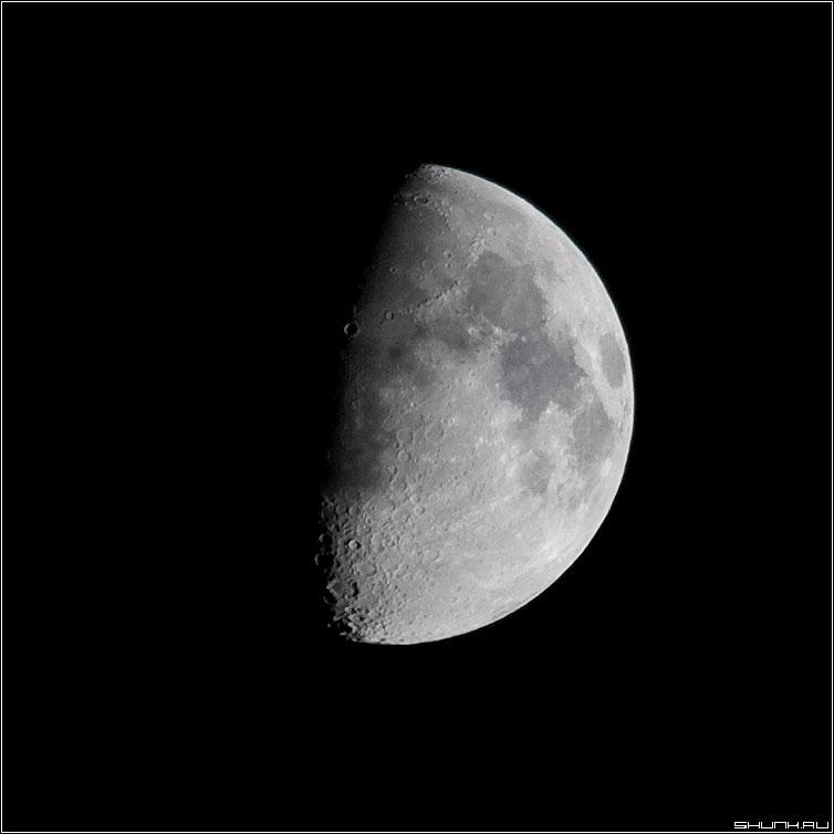 Обратная сторона луны - луна кратеры 100-400 небо квадрат фото фотосайт