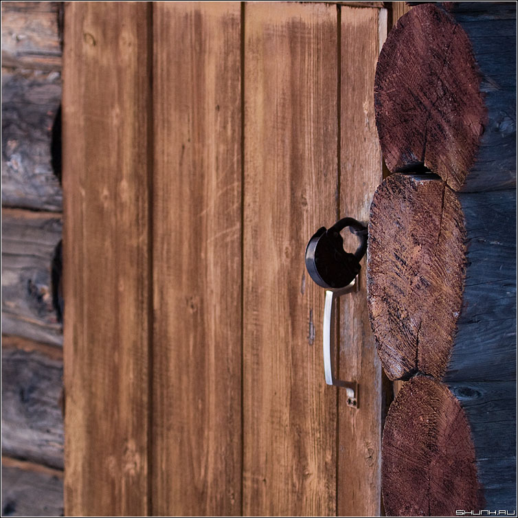Телепорт - дверь баня замок ручка квадрат фото фотосайт