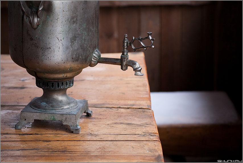 Так хотелось чаю - самовар чай стол лавка натюрморт фото фотосайт