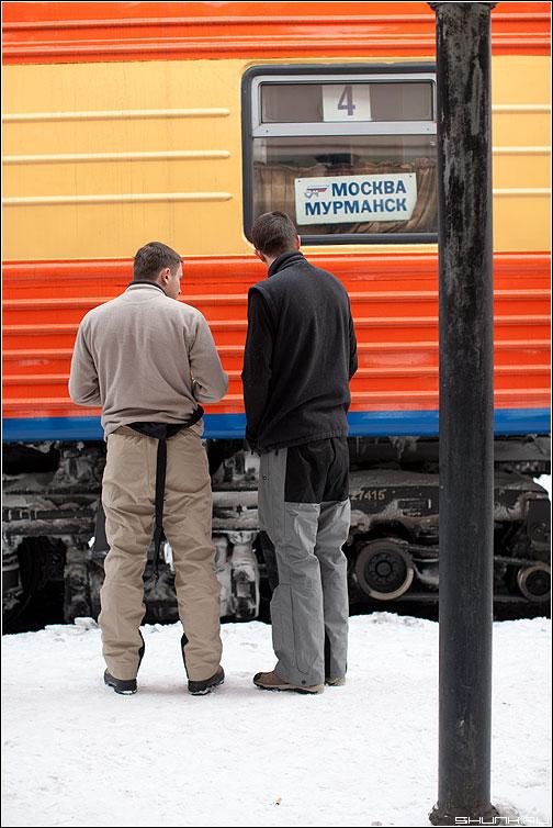 Дорогой дальнею - поезд москва мурманск вагон поезд друзья полустаночек фото фотосайт