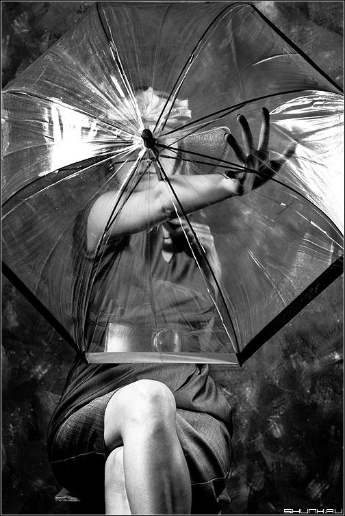 З.О.Н.Т. - зонт студия чёрнобелое маша креатив фото фотосайт