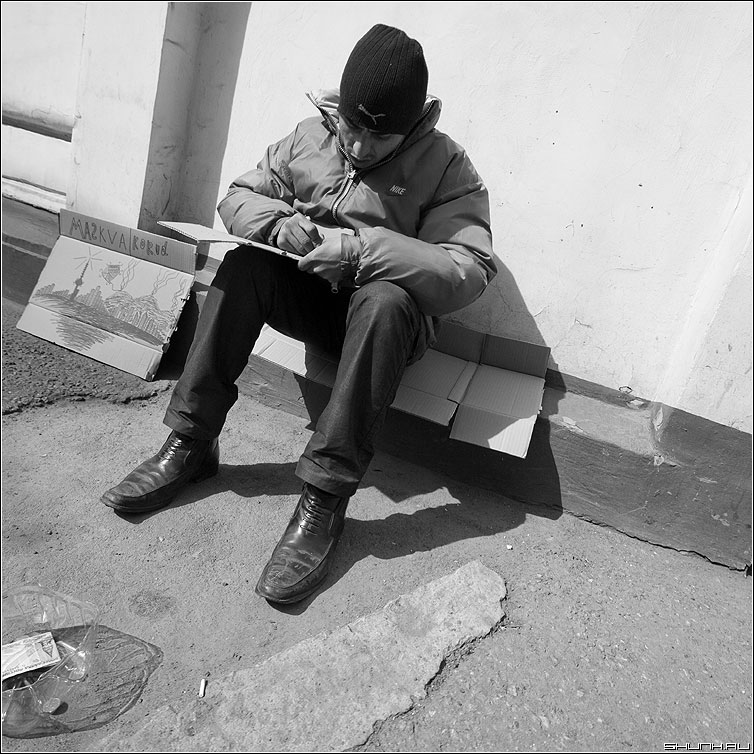 Maskva korod - иностранец москва город квадрат чёрнобелый картинки фото фотосайт