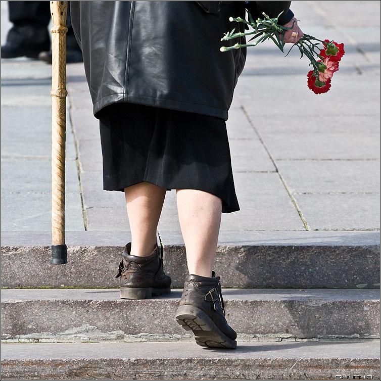 Они прошли всю войну - ноги цветы 9 мая день победы квадратное фото фотосайт