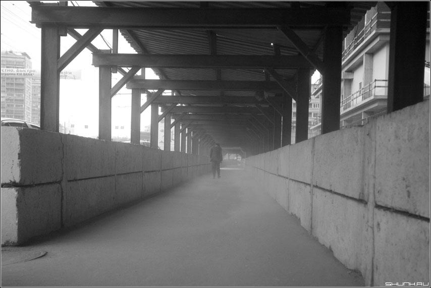 Пыль - пыль ветер погода переход человек силует фото фотосайт