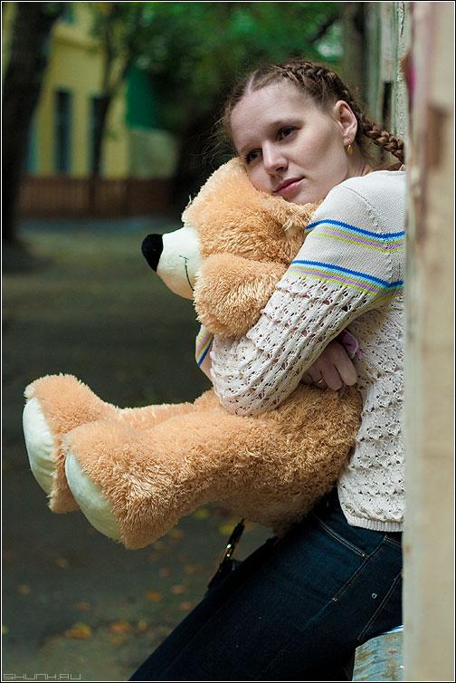 НА ДР - день рождение медведь улица фотопрогулка фотосъемка катерина рыжик доня фото фотосайт