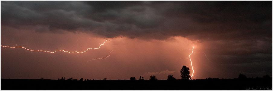 Гроза - гроза молния разряд небо облака дождь фото фотосайт