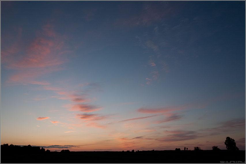 Небо 3 - небо тучи облака солнце свет панорама фото фотосайт