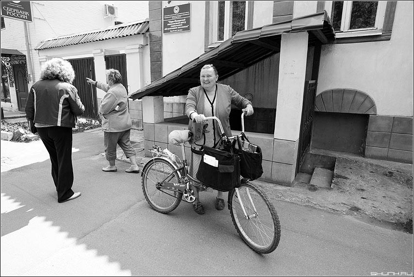 Почтальон - почтальон профессия велосипед верея газеты наро-фоминский район фото фотосайт