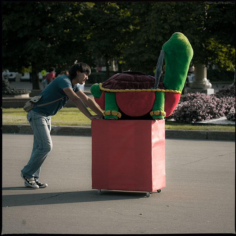 Идол (вариант) - черепаха идол вднх парень тумба квадратное фото фотосайт