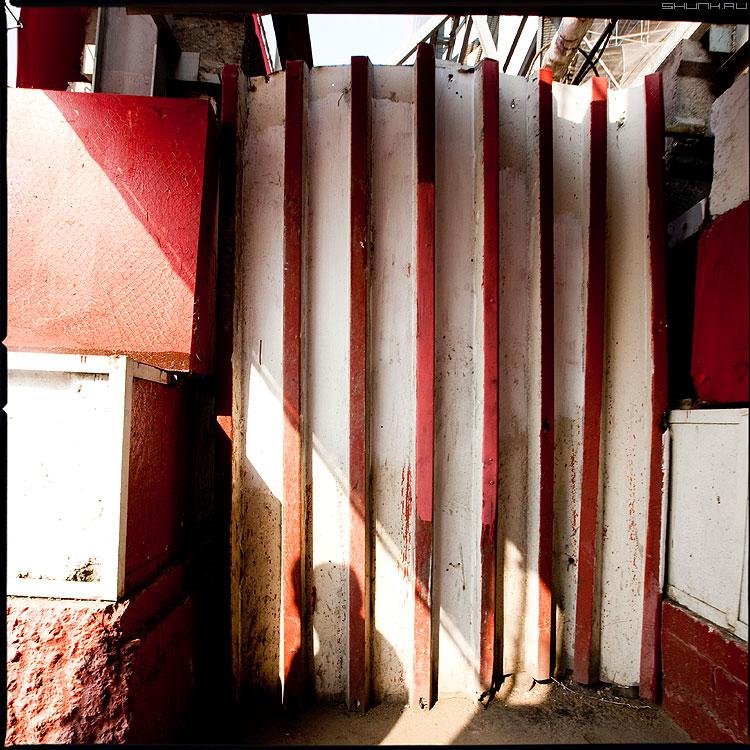 Теорема Фалеса - радуга красный квадратное элементы стройко геометрия теорема фото фотосайт