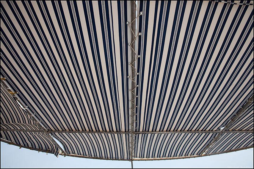 НАВЕС - море яхта египет навес полоски небо элемент фото фотосайт