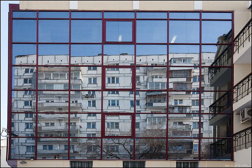Предрассудок отражения - отражение предрассудок здания архитектура зеркальное центр офисы фото фотосайт