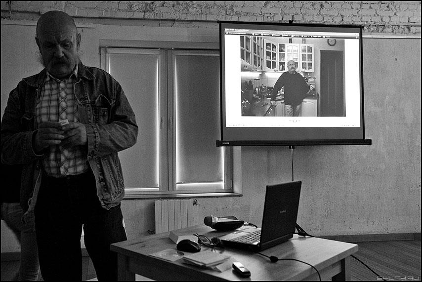 CCC в квадрате - ссс слюсарев чёрнобелое люди семинар фото фотосайт