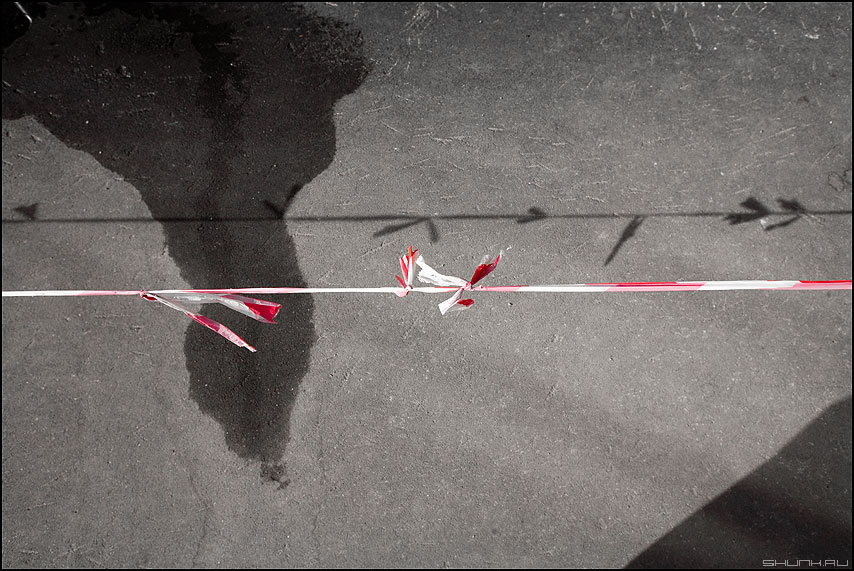 Теорема Фари — Милнора - теорема уличное узлы ленточка лужи тени элементы фото фотосайт