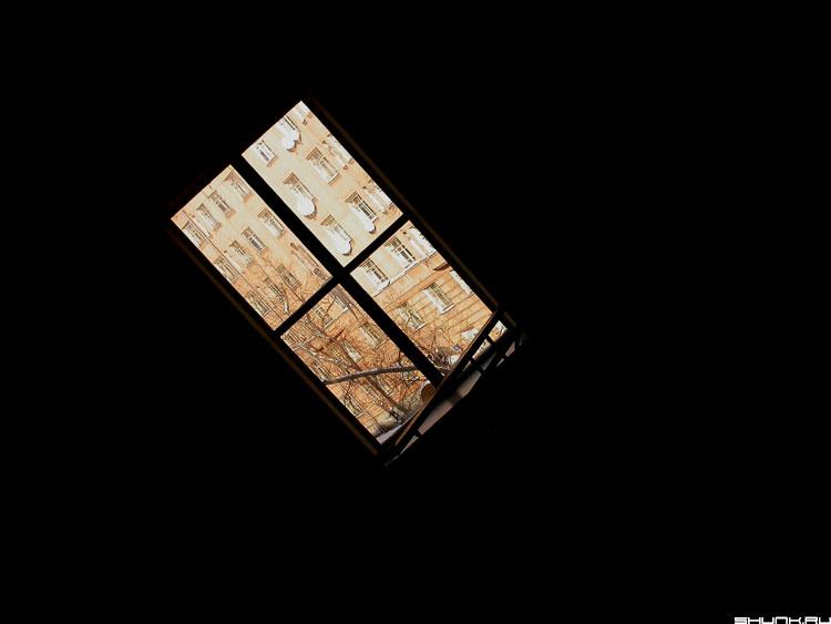 Окно - окно лестница фото фотосайт