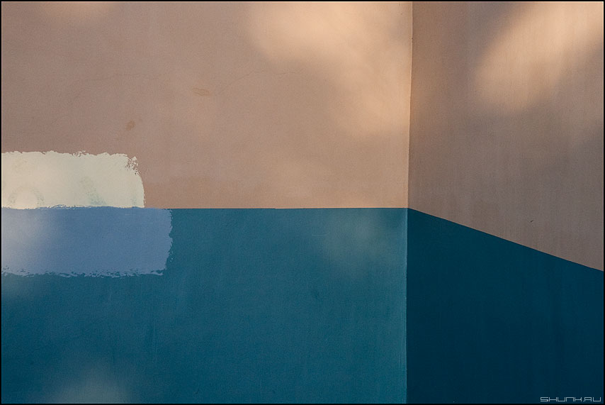 Измерения: пространство и время - элементы стена геометрия этюд теорема фото фотосайт
