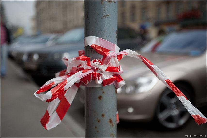 Подарочная - ленточка столб элементы уличное фото фотосайт