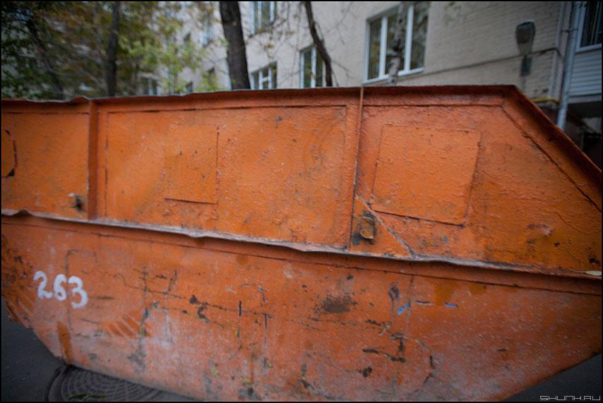 Оранжевое небо, оранжевый контейнер - оранжевое цвет уличное элемент фото фотосайт