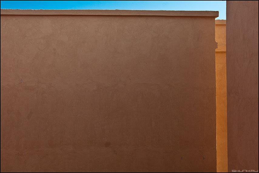 The Стена - стена египет архитектура предрассудок небо край фото фотосайт