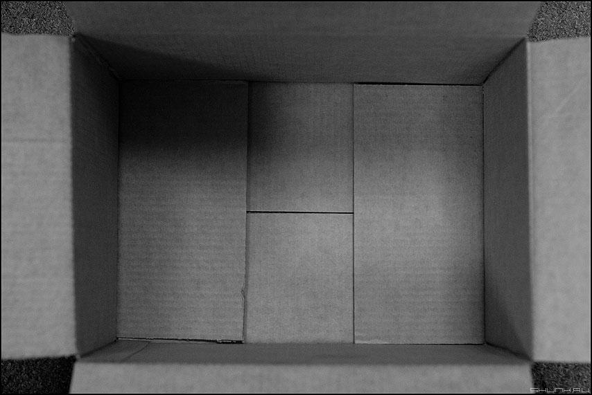 Зе Бокс - коробка монохромное слюсаревское внутренность фото фотосайт