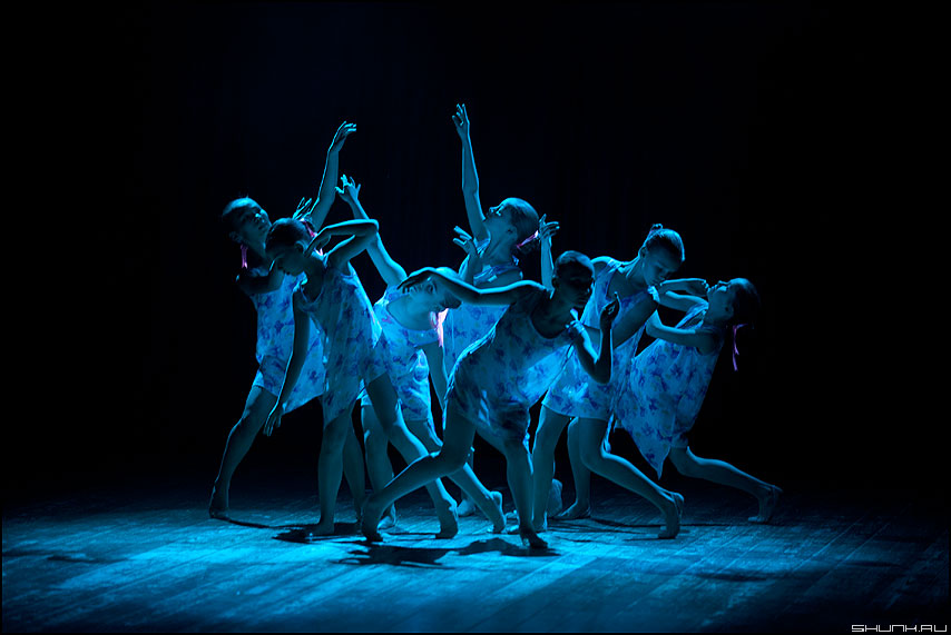 Синий цветок - танец балаганчик концерт дети фото фотосайт