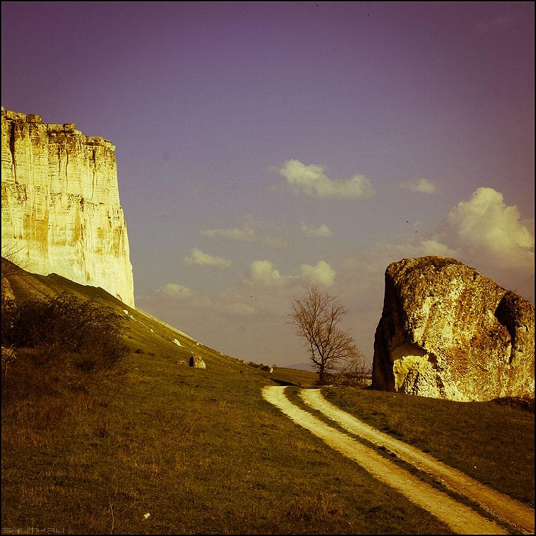 Белая скала - скала белая крым квадратное старение фото фотосайт