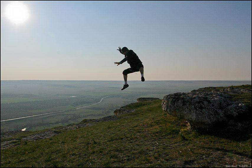 Ах как хочется вернуться... - крым я прыжок белая скала весна солнце фото фотосайт