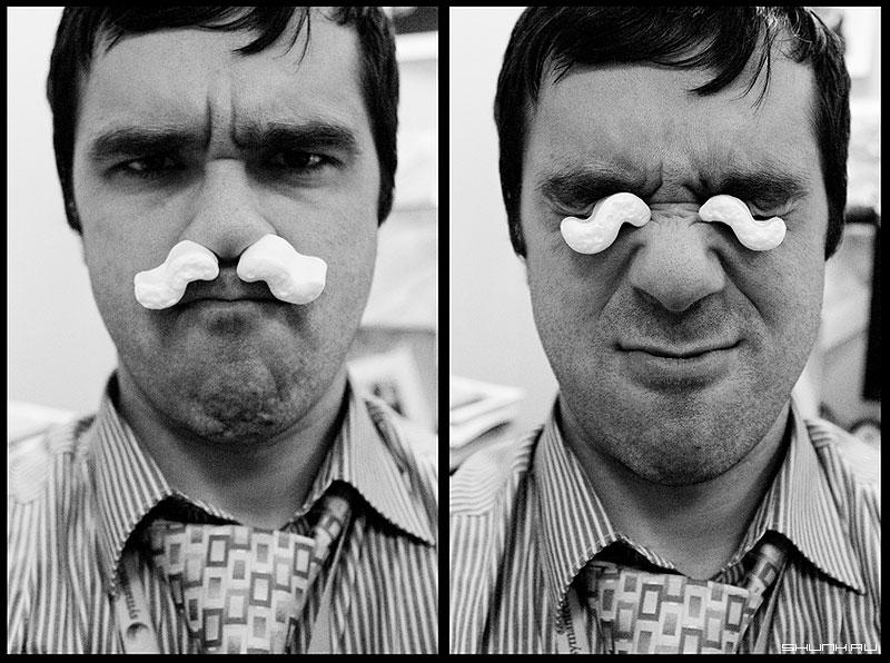 Усы - усы я хумор пенопласт комично фото фотосайт