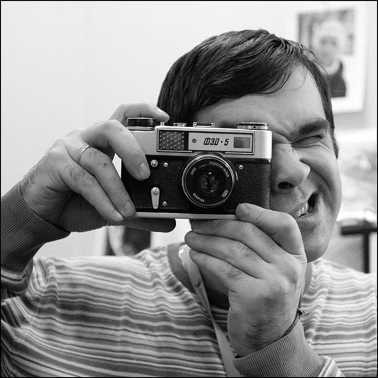 ФЭД-5 - фэд фотик старый квадратное раритет я автопортрет фото фотосайт
