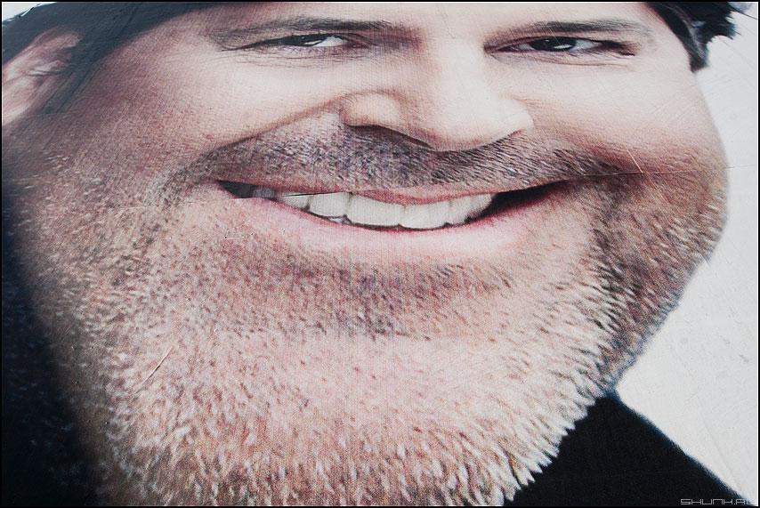Добрый жук - дядя портрет реклама уличное бородач модерн токинг фото фотосайт