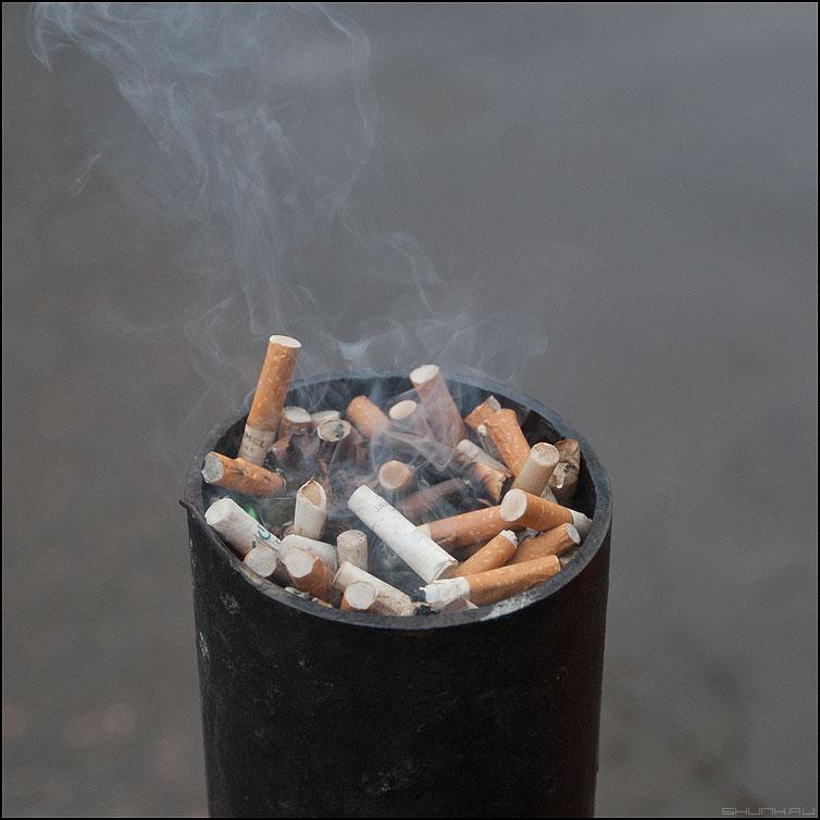 С ментолом - столб квадратное сигареты уличное элемент фото фотосайт