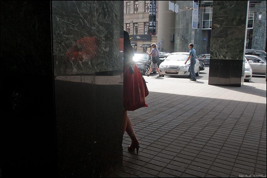 Ножка - колонна новослободская уличное свет фото фотосайт