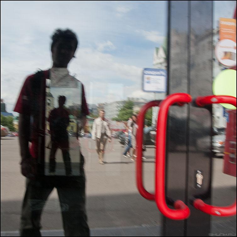 Ушел в себя - я всебе квадратное уличное фото фотосайт