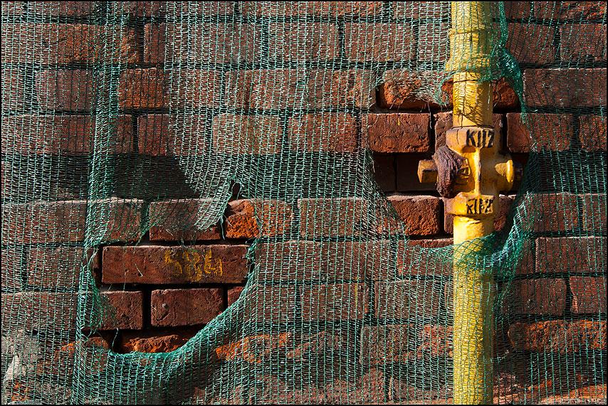 Дырочки - сетка труба рванина газ элементы фото фотосайт