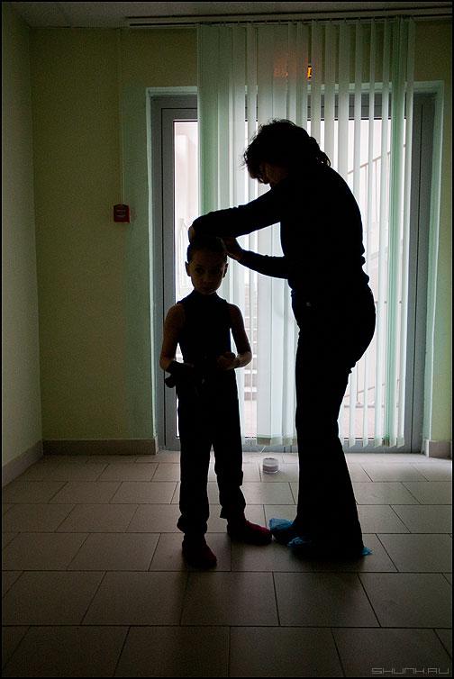 Подготовка - балаганчик подготовка мама прическа светотень контраст противсвета фото фотосайт
