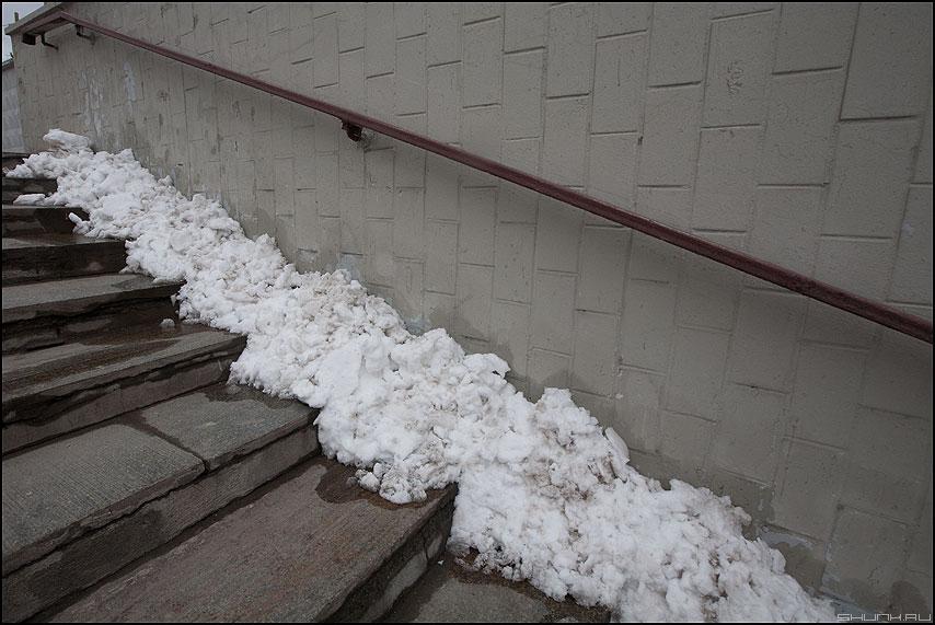 5 апреля 2012 - апрель снег зима весна переход фото фотосайт