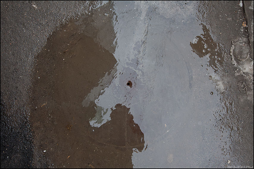 Дырочка - вода колодец весна дырочка фото фотосайт