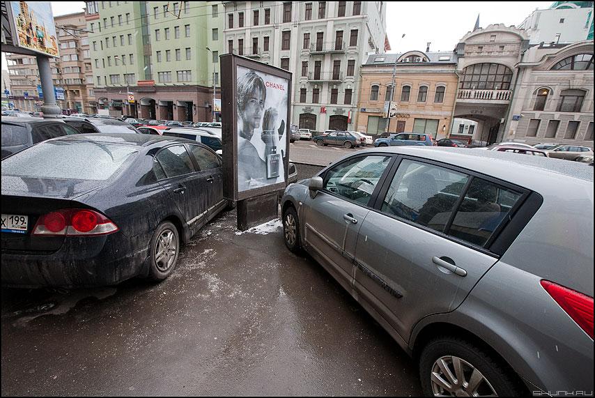 Шанель - авто реклама уличное взгляд фото фотосайт