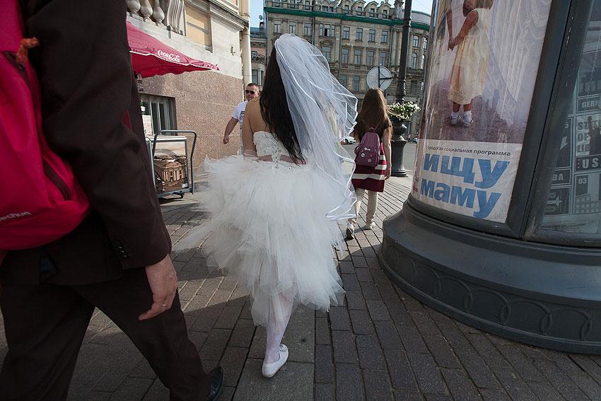 Мамонтенок - уличное фота свадьба люди фото фотосайт