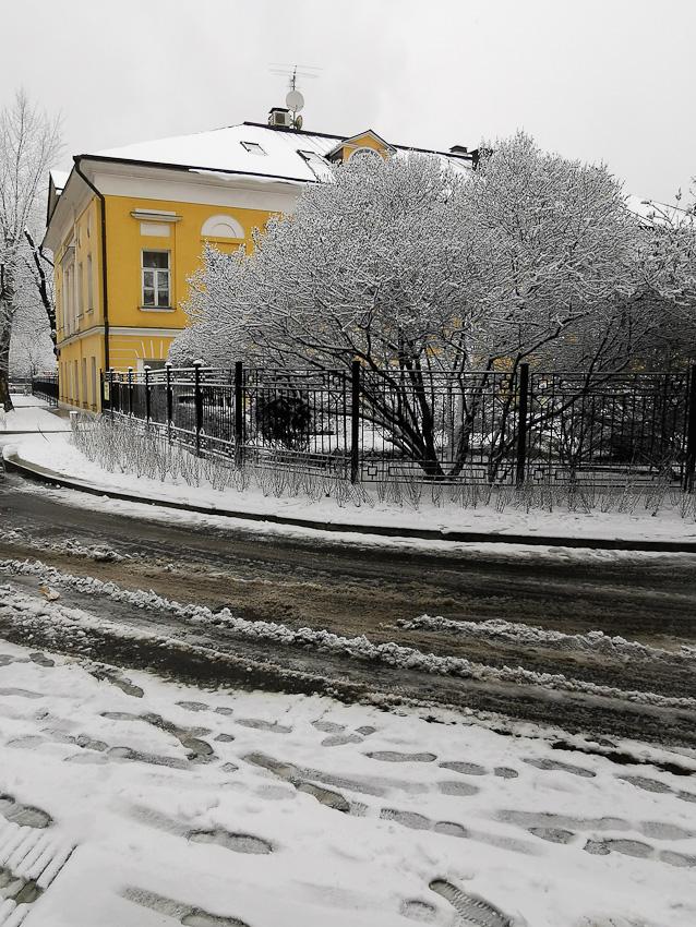 Выглядывать - уличное улица дом снег зима 2020 фото фотосайт