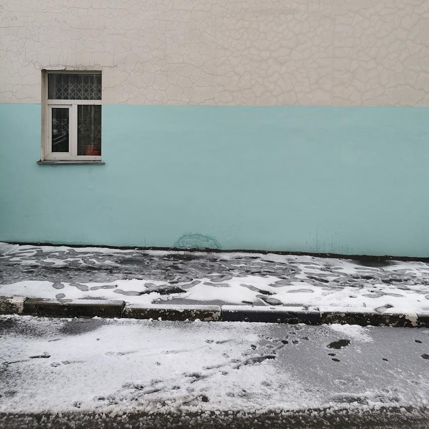 Настроение - улица дом стена окно 2020 зима москва дом фото фотосайт