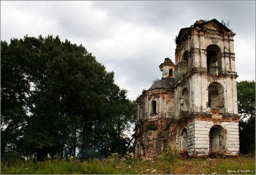 Церковь Святителя Николая - церковь восстановление храм фото фотосайт