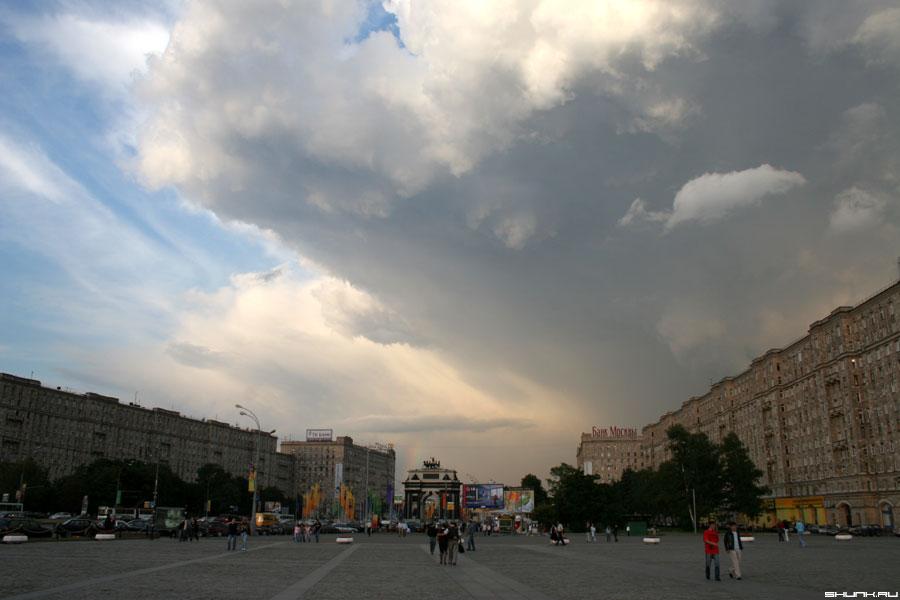 Тучка - поклонная гора небо фото фотосайт