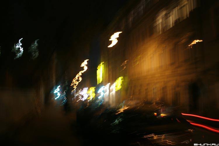 ПоДрожание - ночная москва покровка загогули фото фотосайт