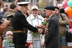 Фронтовики - 9 мая день победы поклонная гора ветераны
