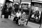 Жизнь - кино - остановка пожилая пара афиши