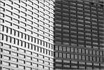 Плоскопараллельный - окна здание арбат архитектура чб