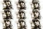 Привет с Египта - я портрет коллаж арафатка девять рожи язык