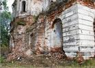 Вид с дороги - церковь восстановление храм